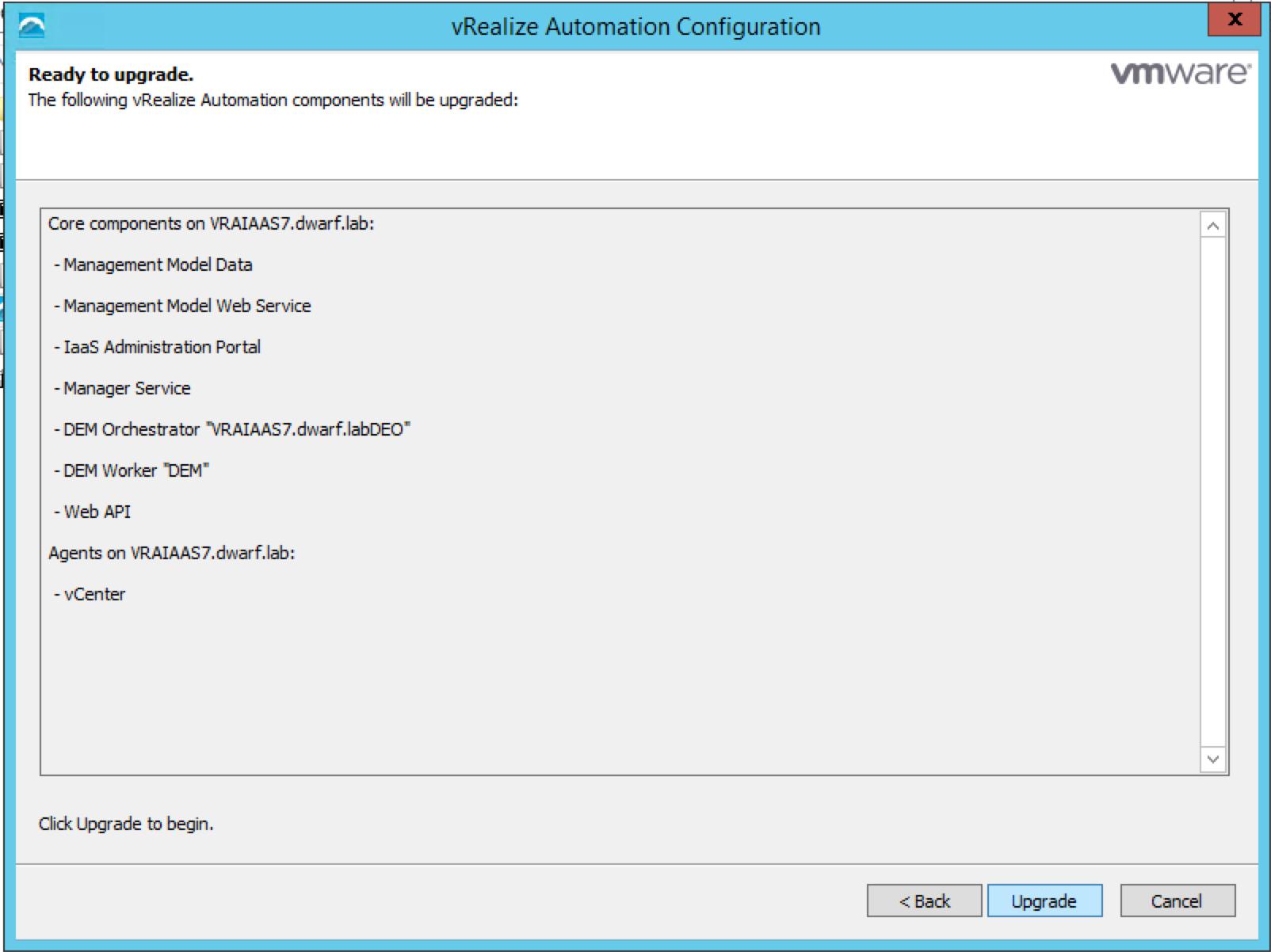 vRA 7.0.1 IaaS Installation – 10