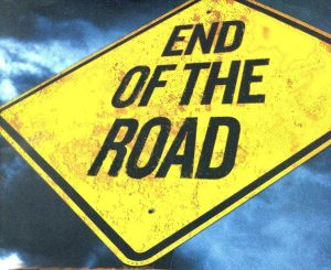 end of road